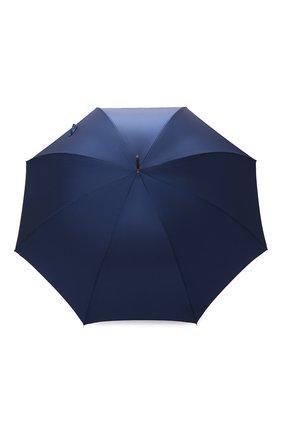 Мужской зонт-трость PASOTTI OMBRELLI темно-синего цвета, арт. 479/RAS0 0XF0RD/8/K68 | Фото 1