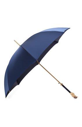 Мужской зонт-трость PASOTTI OMBRELLI темно-синего цвета, арт. 479/RAS0 0XF0RD/8/K68 | Фото 2
