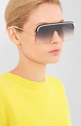 Мужские солнцезащитные очки CUTLERANDGROSS белого цвета, арт. 132802 | Фото 2
