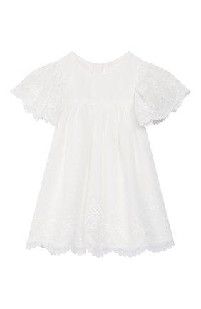 Женский платье CHLOÉ белого цвета, арт. C92480 | Фото 1