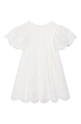 Женский платье CHLOÉ белого цвета, арт. C92480 | Фото 2