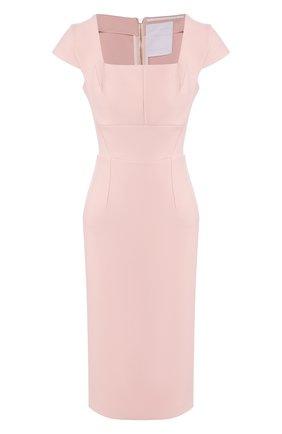 Женское платье ROLAND MOURET розового цвета, арт. EW20/S1761/F2196 | Фото 1