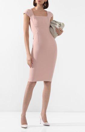 Женское платье ROLAND MOURET розового цвета, арт. EW20/S1761/F2196 | Фото 2