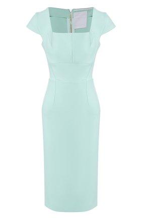 Женское платье ROLAND MOURET зеленого цвета, арт. EW20/S1761/F2196 | Фото 1