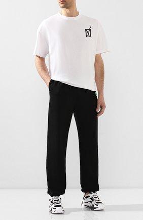 Мужская хлопковая футболка VETEMENTS белого цвета, арт. UAH21TR512 1600/M | Фото 2
