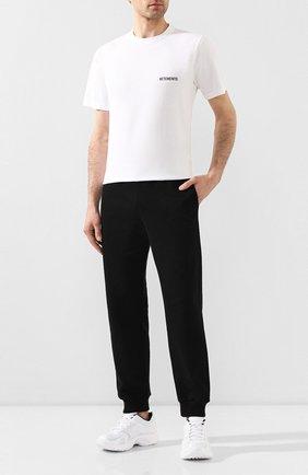 Мужская хлопковая футболка VETEMENTS белого цвета, арт. UAH21TR501 1600/M | Фото 2