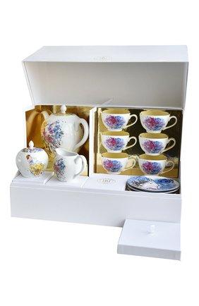 Мужского чайный сервиз на 6 персон les bouquets de fleurs de marc chagall BERNARDAUD разноцветного цвета, арт. 1828/22626 | Фото 1