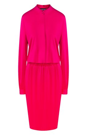 Женское платье из вискозы TOM FORD фуксия цвета, арт. ABJ450-FAX159 | Фото 1