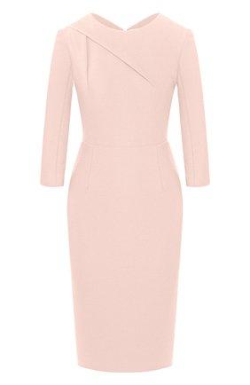 Женское платье ROLAND MOURET светло-розового цвета, арт. EW20/S1834/F2196 | Фото 1