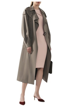 Женское платье ROLAND MOURET светло-розового цвета, арт. EW20/S1834/F2196 | Фото 2