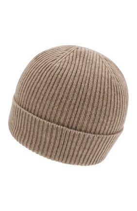 Мужская кашемировая шапка GIORGIO ARMANI бежевого цвета, арт. 747348/8A510 | Фото 2