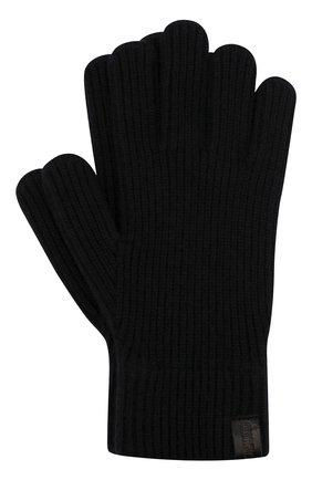 Мужские кашемировые перчатки GIORGIO ARMANI темно-синего цвета, арт. 744141/0A211 | Фото 1