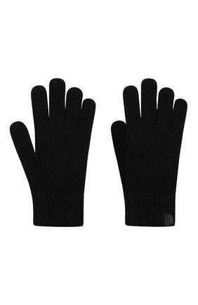 Мужские кашемировые перчатки GIORGIO ARMANI темно-синего цвета, арт. 744141/0A211 | Фото 2
