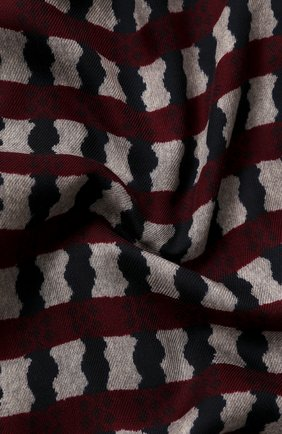 Мужской шарф из шерсти и шелка GIORGIO ARMANI разноцветного цвета, арт. 745209/0A117 | Фото 2