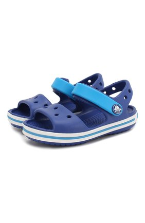 Детские сандалии crocband CROCS синего цвета, арт. 12856-4BX | Фото 1