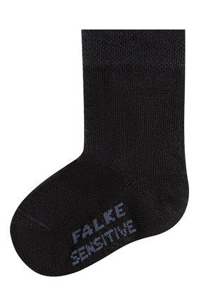 Детские хлопковые носки FALKE синего цвета, арт. 10626 | Фото 1