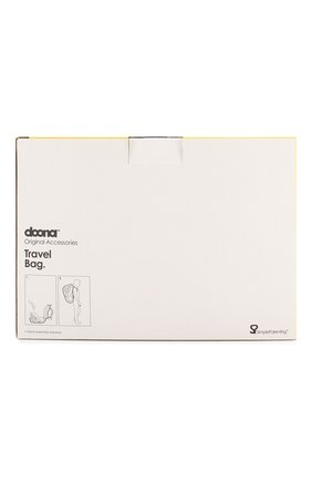 Детская сумка для путешествий doona SIMPLE PARENTING черного цвета, арт. SP107-99-001-099 | Фото 3 (Материал: Текстиль, Синтетический материал)