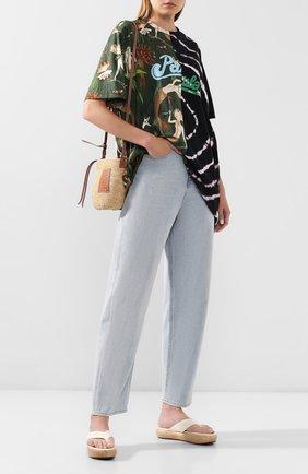 Женская футболка loewe x paula's ibiza LOEWE разноцветного цвета, арт. S616341X63 | Фото 2
