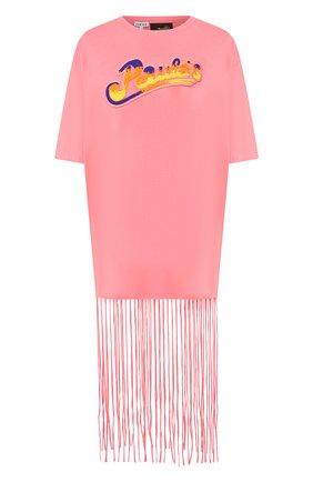 Женская футболка loewe x paula's ibiza LOEWE розового цвета, арт. S616341X60 | Фото 1
