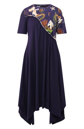 Женское платье loewe x paula's ibiza LOEWE темно-синего цвета, арт. S616341X56 | Фото 1