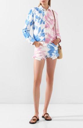 Джинсовые шорты Loewe x Paula's Ibiza | Фото №2