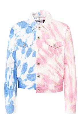 Женская джинсовая куртка loewe x paula's ibiza LOEWE разноцветного цвета, арт. S616330X05 | Фото 1