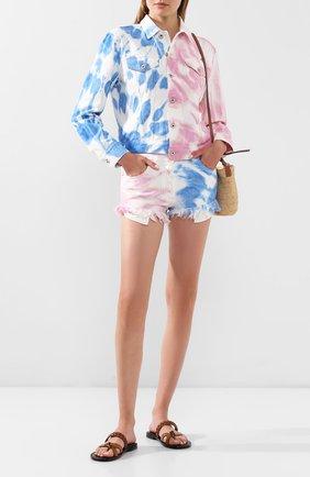 Женская джинсовая куртка loewe x paula's ibiza LOEWE разноцветного цвета, арт. S616330X05 | Фото 2