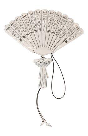 Женский клатч fan loewe x paula's ibiza LOEWE белого цвета, арт. A819050X02 | Фото 1
