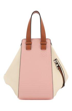 Женская сумка hammock small loewe x paula's ibiza LOEWE розового цвета, арт. 387.30YS35   Фото 1