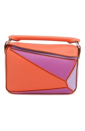 Женская сумка puzzle mini loewe x paula's ibiza LOEWE оранжевого цвета, арт. 322.35FU95   Фото 1