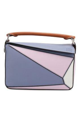 Женская сумка puzzle small loewe x paula's ibiza LOEWE сиреневого цвета, арт. 322.30YS21   Фото 1