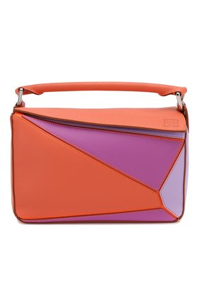 Женская сумка puzzle small loewe x paula's ibiza LOEWE оранжевого цвета, арт. 322.30QS21 | Фото 1
