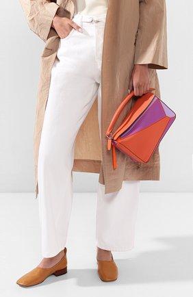Женская сумка puzzle small loewe x paula's ibiza LOEWE оранжевого цвета, арт. 322.30QS21 | Фото 2