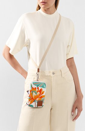 Женская сумка loewe x paula's ibiza LOEWE белого цвета, арт. 128.50.Z47   Фото 2