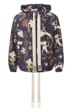 Мужская куртка loewe x paula's ibiza LOEWE черного цвета, арт. H616338X09 | Фото 1