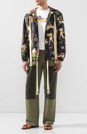 Мужская куртка loewe x paula's ibiza LOEWE черного цвета, арт. H616338X09 | Фото 2