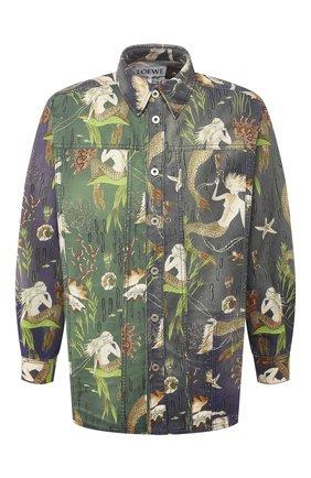 Мужская хлопковая рубашка loewe x paula's ibiza LOEWE разноцветного цвета, арт. H616337X79 | Фото 1