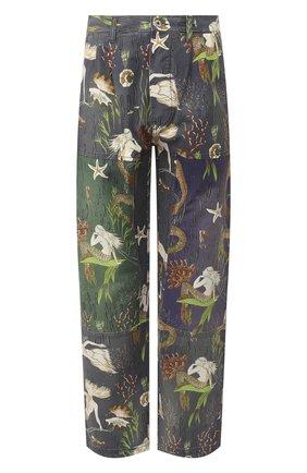 Мужской хлопковые брюки loewe x paula's ibiza LOEWE разноцветного цвета, арт. H616331X67 | Фото 1