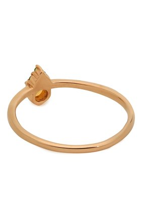 Женское кольцо из золота с опалом и цаворитами MOONKA STUDIO золотого цвета, арт. op-sr-tsv   Фото 2