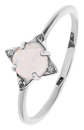Женское кольцо the rose MOONKA STUDIO серебряного цвета, арт. tr-rr-qrz   Фото 1