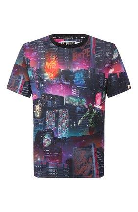 Мужская футболка BAPE разноцветного цвета, арт. 1G30109013 | Фото 1