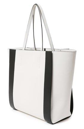 Женская сумка-шопер ALEXANDER MCQUEEN белого цвета, арт. 630773/1X3G1 | Фото 2
