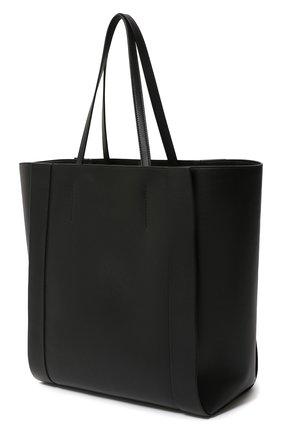 Женская сумка-шопер ALEXANDER MCQUEEN черного цвета, арт. 630773/1X3G2 | Фото 2