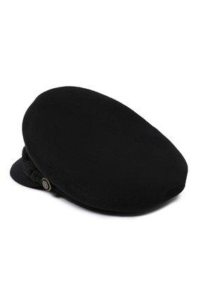 Женская кепи SAINT LAURENT черного цвета, арт. 630825/3YG15 | Фото 2