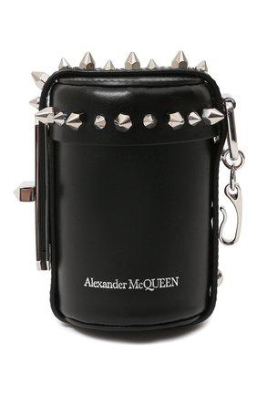 Женский сумка ALEXANDER MCQUEEN черного цвета, арт. 631665/1MAYY   Фото 1
