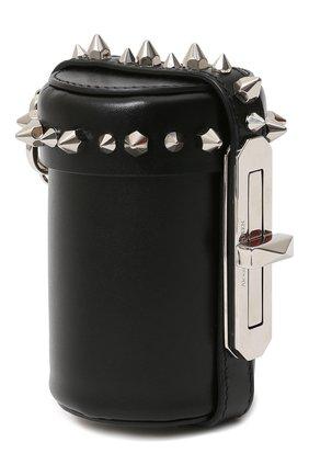 Женский сумка ALEXANDER MCQUEEN черного цвета, арт. 631665/1MAYY   Фото 2