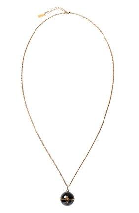 Женское кулон на цепочке SAINT LAURENT золотого цвета, арт. 632072/Y1521   Фото 1
