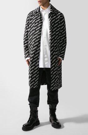 Женский плащ VETEMENTS черно-белого цвета, арт. UAH21JA028/1008 | Фото 2