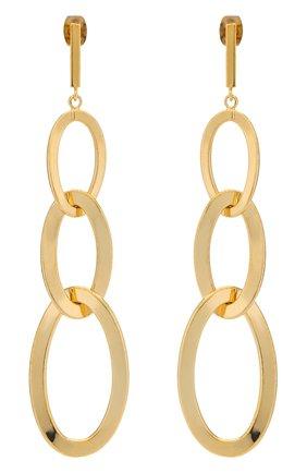 Женские серьги EXCLAIM золотого цвета, арт. 035G2668E | Фото 1