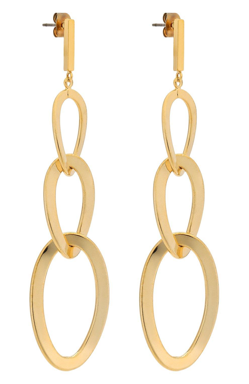 Женские серьги EXCLAIM золотого цвета, арт. 035G2668E | Фото 3